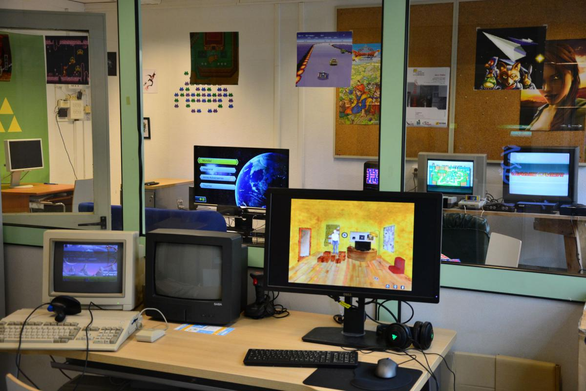 Image ordinateur jeux gamelab