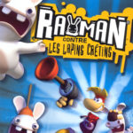 Rayman contre Lapins Crétins image jaquette jeu
