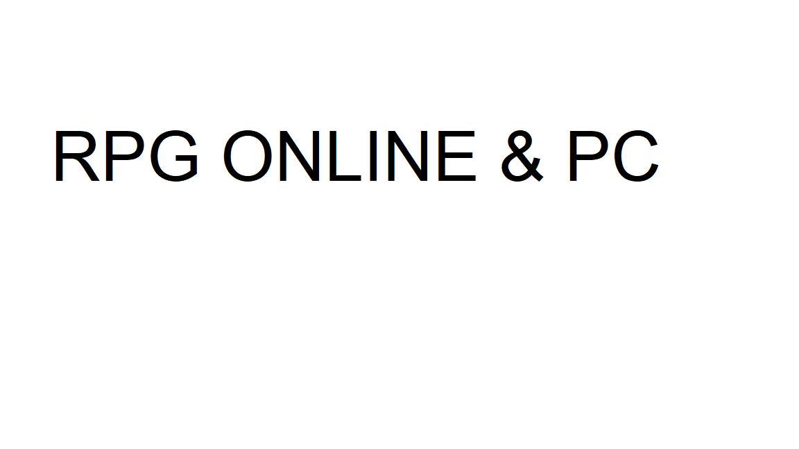RPG Online #4