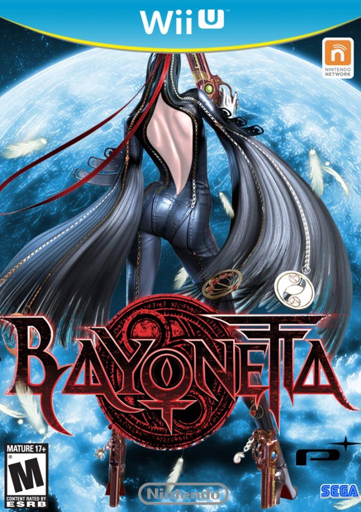 Bayonetta jaquette jeu
