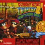 donkey kong country 2 jaquette jeu