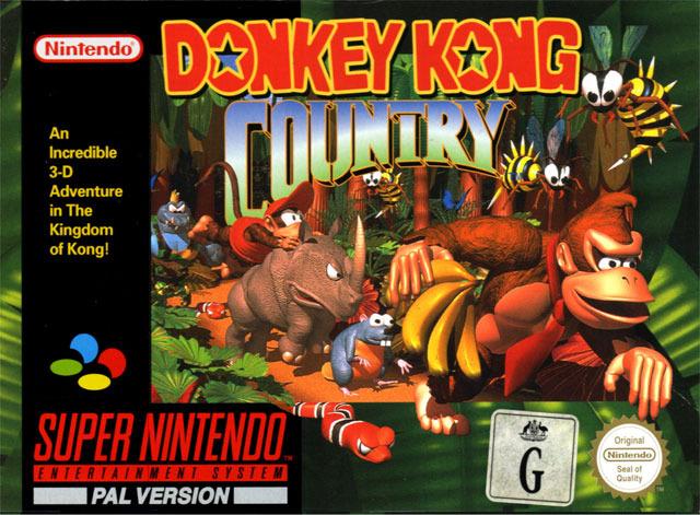donkey kong country jaquette jeu