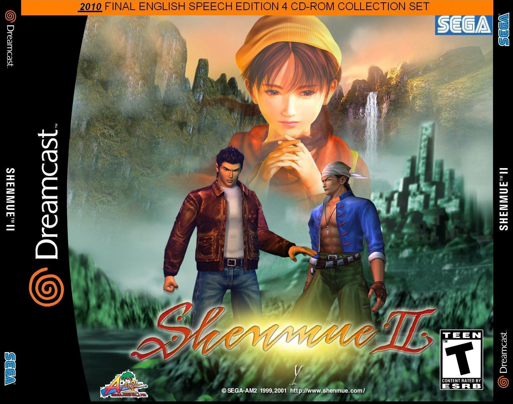 Schenmue 2 image jaquette jeu