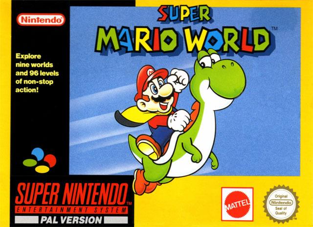 Super Mario World image jaquette jeu