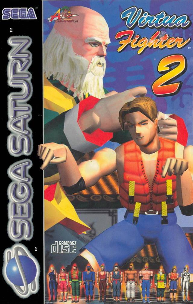Virtua Fighter 2 image jaquette jeu